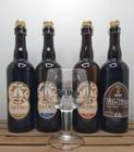 Val-Dieu Brewery Pack 4x  + FREE Val-Dieu Glass